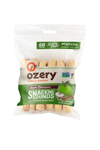 Ozery Apple Cinnamon Snacking Rounds, 10.6 oz (12 Rounds)