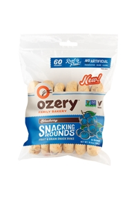 Ozery Blueberry Snacking Rounds, 10.6 oz (12 Rounds)