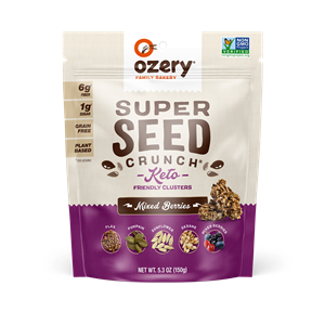 Ozery Super Seed Crunch Mixed Berries