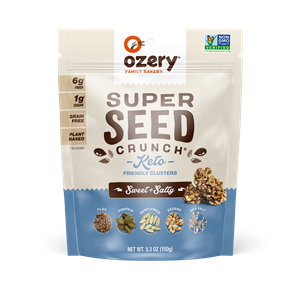 Ozery Super Seed Crunch Sweet & Salty